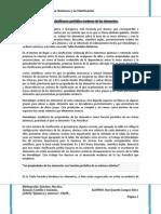 UNIDAD 2 Los Elementos Químicos y su Clasificación