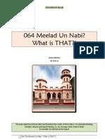 064 Meelad Un Nabi? What is THAT?!
