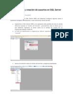 Configuración y creación de usuarios en SQL Server 2008