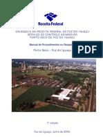 Manual de Procedimentos No Despacho de Porto Seco de Foz Do Iguacu