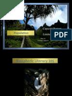 En Français - Capacité Portant écologique (ppt)