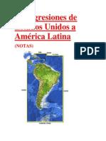 Las agresiones de Estados Unidos a América Latina (NOTAS)