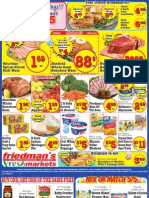 Friedman's Freshmarkets - Weekly Specials - March 21 - 27, 2013