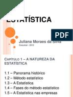 Cap 01 - Estatística