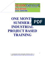 Embedded Training Program