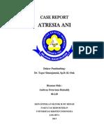 Case Report - Atresia Ani