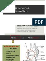Reumato 2 - Artrites agudas - Dra Gecilmara.ppt