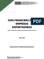 Guía Financiera para empresas exportadoras - Tomo I