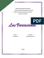 Variaciones Fenotípicas