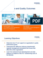 Patient Care Quality Outcomes