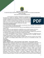 Edital Do Concurso Do MPU