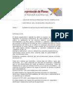Int Planos Sanitarios, Electricos.