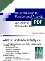 20060920 Fundamentals