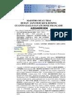 Curriculum Sportivo 07.03.2009 Maestro