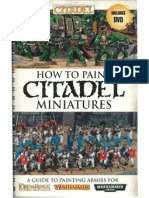 How to Paint Citadel Miniature 2012