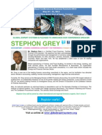 Caribbean Conference on Business Forensics 2013 BIO STEPHON GREY
