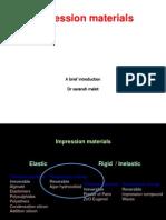 Elastic Impression Materials
