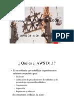 AWS D1.1-2004 Alcances