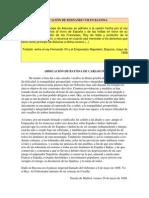 ABDICACIÓN DE FERNANDO VII EN BAYONA