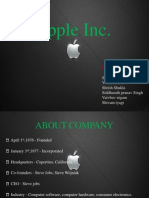 Apple Think Different      Ankit Tripathi( Apeejay)