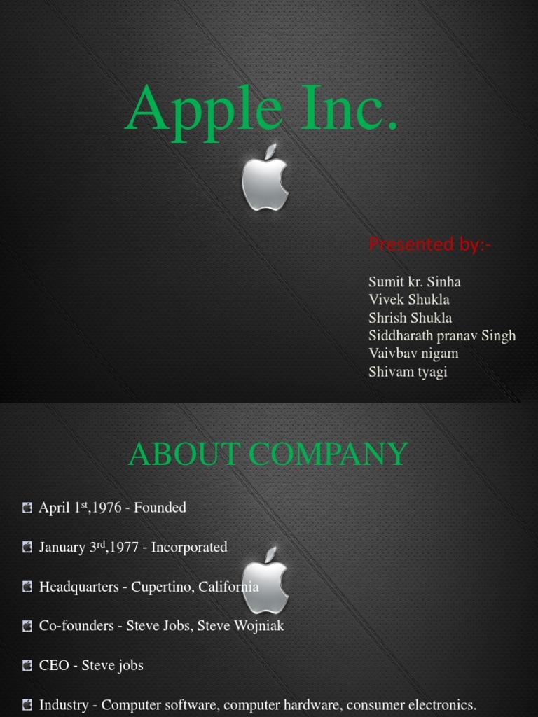 Apple Inc Think Different