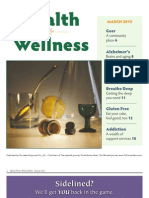 Health and Wellness March 2013
