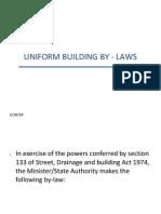 2-Uniform Building by - Laws