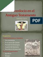 Tema 2 El Sacerdocio en El At