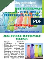 Jual Produk Tupperware Terbaru, Botol Minum Tupperware Malaysia