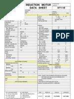 HICO Induction Motor Data Sheet
