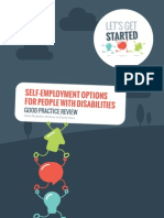 Self Employment Options for People with Disabilities