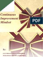 Continuous Improvement Mindset