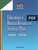Educational & Human Resource Strategic Plan 2008-2020