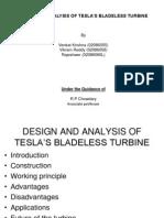 tesla bladeless turbine