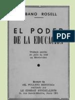 El Poder de la Educación - Albano Rosell