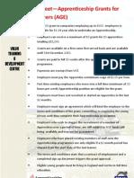 Apprentice Grant Fact Sheet PDF