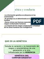 Genes y Conducta