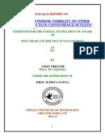 projectonITC.docx Ankit Tripathi (Apeejay G NOIGA)