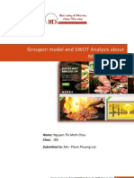 Groupon Model and SWOT of Nhommua.com( Final Report)