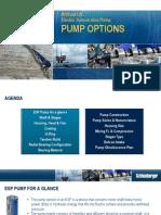 Pump Options