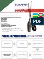 Réduires les Barrieres Commerciales dans la Région de l'Afrique du Centre de de l'Est