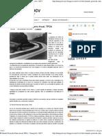 El Tránsito Promedio Diario Anual, TPDA ~ Transporte 1 UJCV