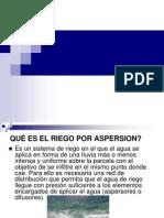 Presentacion Aspersion