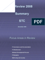 Is Review Summary Presentation-STC