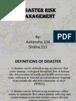Disaster Management Ppt NEW