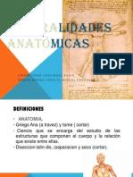 tema 3 Generalidades Anatómicas