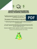 Awards Application Meeting