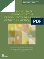 La movilidad económica y el crecimiento de la clase media en América Latina