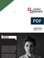 Chris Brown Design Portfolio 2013