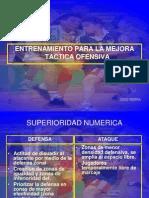 Mejora de la técnico táctica individual. Jordi Ribera